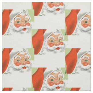 Vintage Santa Fabric