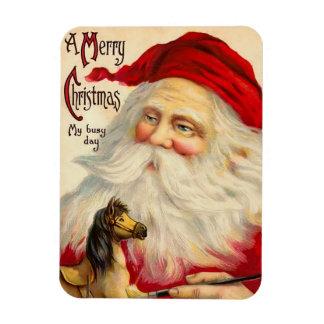 Vintage Santa Flex Magnet