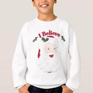Vintage Santa I Believe Christmas Sweatshirt