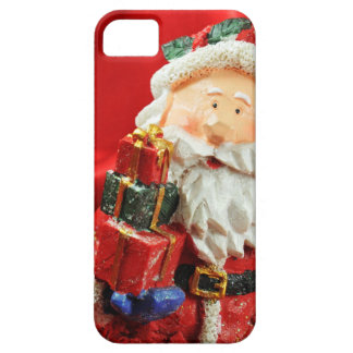 Vintage Santa red background iPhone 5 Cover