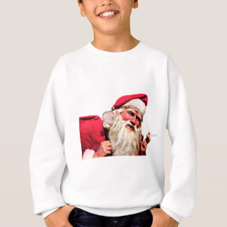 Vintage Santa Smoking Cigarette Sweatshirt