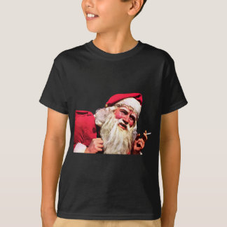 Vintage Santa Smoking Cigarette T-Shirt