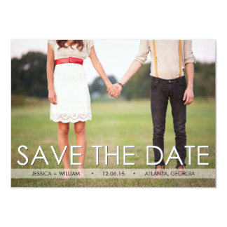 Vintage Save the Date Announcement - Custom