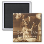 Vintage Save the Date! Magnets