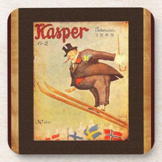Vintage Scandinavian Cigar Ad Coaster