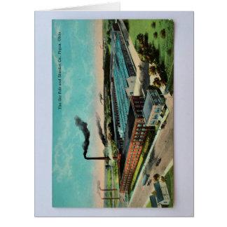 vintage scenery card