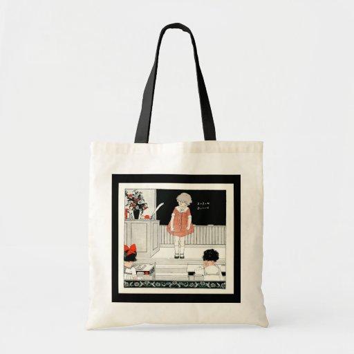 Vintage School Bag for Students or Teachers