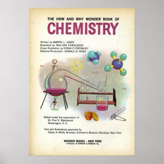 Vintage School Chemistry Education Poster