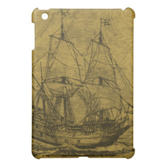 Vintage Schooner iPad Mini Case