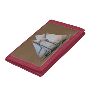vintage schooner wallet