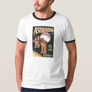 Vintage Sci Fi Comic Astounding Stories 1934 T-Shirt