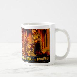 Vintage Sci-Fi Lobby Card Basic White Mug