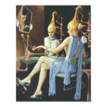 Vintage Science Fiction Girl's Night Out Party 11 Cm X 14 Cm Invitation Card