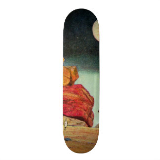 Vintage Science Fiction Quarry Planet Travelers Skate Boards