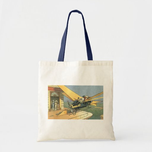 Vintage Science Fiction Steampunk Convertible Car Bag