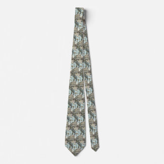 Vintage Science Fiction, Victorian Steam Punk City Tie