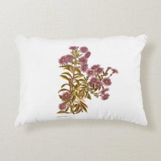 Vintage Science NZ Flowers - Olearia semidentata Decorative Cushion