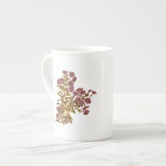 Vintage Science NZ Flowers - Olearia semidentata Tea Cup