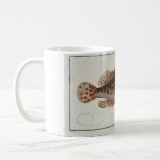 Vintage Scorpion Fish Mug