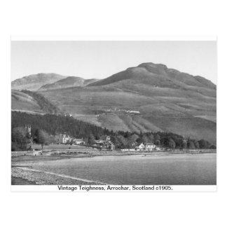 Vintage Scotland 1905,  Arrochar Alps Postcard