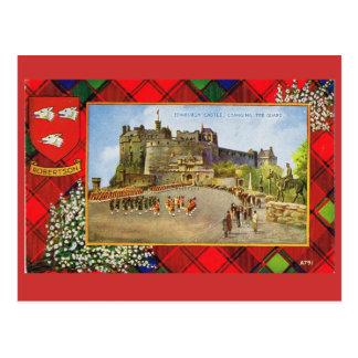 Vintage Scotland, Robertson, Edinburgh castle Postcard