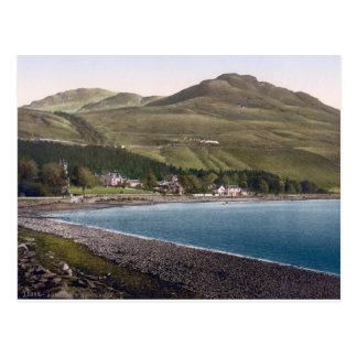 Vintage Scotland, Teighness coastline Postcard