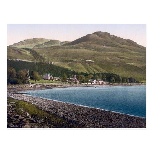 Vintage Scotland, Teighness coastline Post Cards