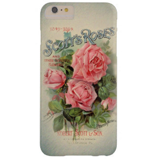 Vintage Scotts Roses Barely There iPhone 6 Plus Case