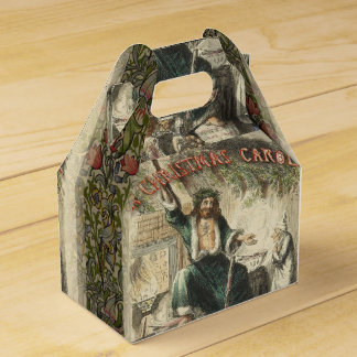 Vintage Scrooge Ghost of Christmas Present Favour Box