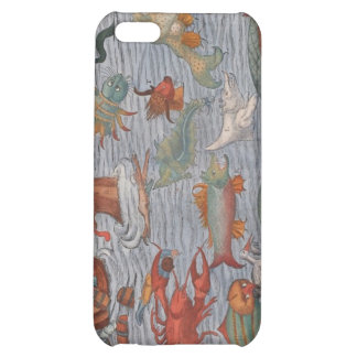 Vintage Sea Creature Painting iPhone 5C Covers