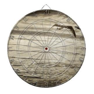 vintage sea design dartboards