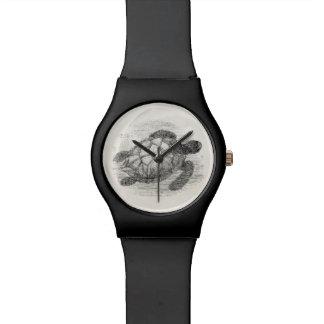 Vintage Sea Turtle Personalized Marine Turtles Watch
