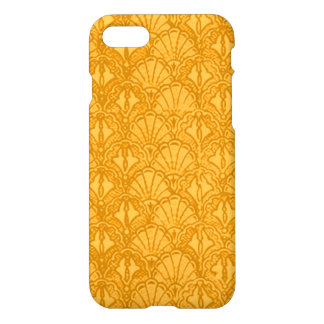 Vintage Seashells Yellow Gold Mango iPhone 7 Case