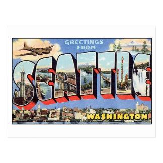 Vintage Seattle Postcard