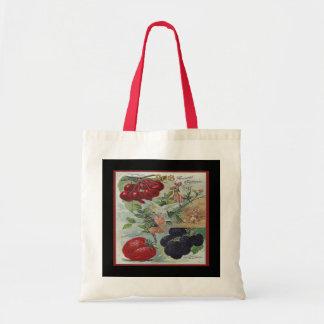 vintage seed catalogue tote bag