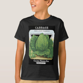 Vintage Seed Packet Vegetable Garden T-Shirt