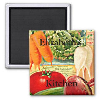 Vintage Seed Packet-Vegetables Personalize it! Magnet