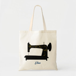 Vintage Sewing Machine Bag