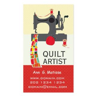 Vintage Sewing Machine Bold Crafts Quilt Artist Pack Of Standard Business Cards