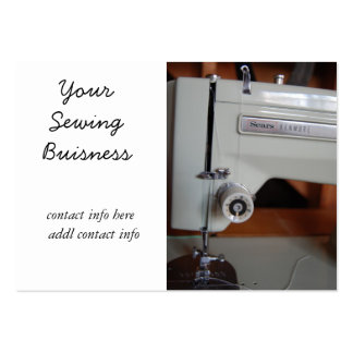 vintage sewing machine business cards
