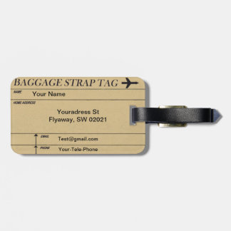 Vintage Sewing Pattern Luggage Tags