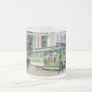 Vintage SF Cable Car Coffee Mug