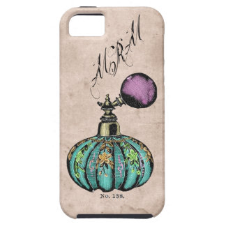 Vintage Shabby Chic Perfume Bottle iPhone 5 Case
