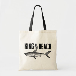 Vintage Shark Beach King Tote Bag