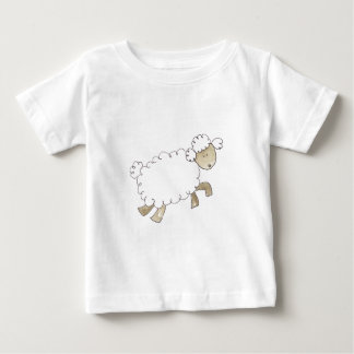 Vintage Sheep by Serena Bowman funny farm animals Baby T-Shirt