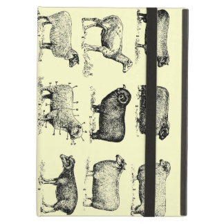 Vintage Sheep iPad Air Cover