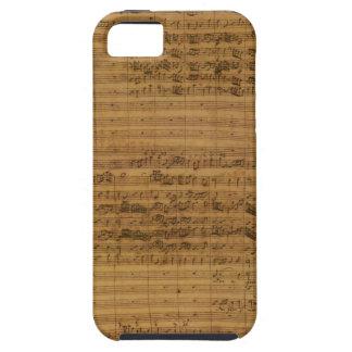 Vintage Sheet Music by Johann Sebastian Bach iPhone 5 Cases