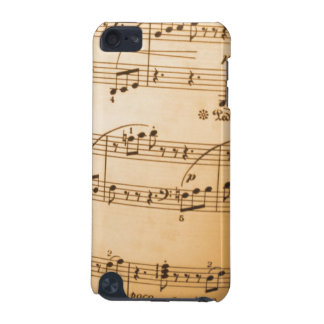 Vintage Sheet Music iTouch Case iPod Touch 5G Cases