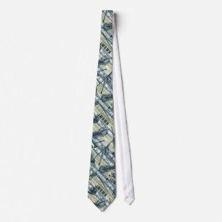 Vintage Sheet Music Pattern Tie