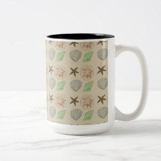 Vintage Shells Coffee Mug